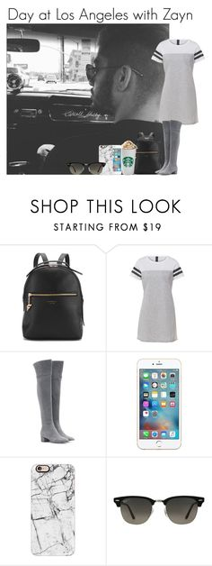 """Day at Los Angeles with Zayn"" by mllestylesusa ❤ liked on Polyvore featuring Fiorelli, Gianvito Rossi, Casetify and Ray-Ban"