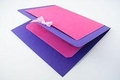 Make a Simple Handmade Wedding Invitation