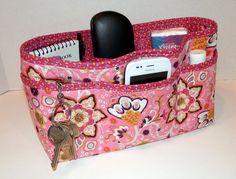 Handmade Quilted purse insert