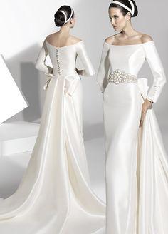 vestidos de novia escote barco