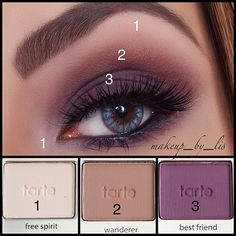 Makeup by Lis Puerto Rico Makeup Artist and Beauty Blog | Daytime Plum Smokey Eye Makeup