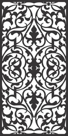 DXF CDR File For CNC Plasma Laser Cut Doors all design good quality and tested at cnc) - Cnc Plasma, Plasma Cutting, Stencil Templates, Stencil Patterns, Damask Stencil, Plasma Cutter Art, Inkscape Tutorials, Cd R, Cnc Cutting Design