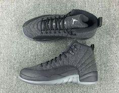 1a860f639f781 Air Jordan 12 Wool Release Date. The Wool Air Jordan 12 features a Dark  Grey