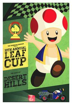 Desert Hills, Mario Kart Poster Series by =Indy-Lytle on deviantART