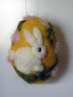 Felted Easter Egg