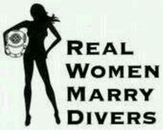 Divers wife