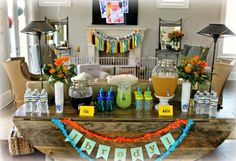 Fun in the Sun First Birthday Party // Birthday Party Ideas for 1st Birthday