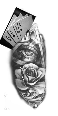 Half Sleeve Tattoos Drawings, Angel Devil Tattoo, Hannya Mask Tattoo, Forarm Tattoos, Gaming Tattoo, Joker Art, Custom Tattoo, First Tattoo, Black And Grey Tattoos