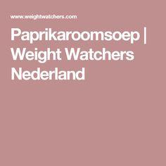 Paprikaroomsoep | Weight Watchers Nederland