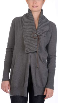 Brunello Cucinelli Grey long sleeve cardigan