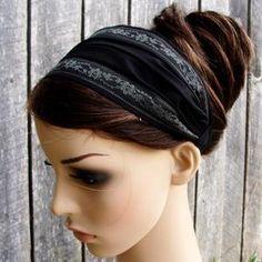 ADULT Headband Sewing Pattern PDF Wide Yoga Headband Pattern   Etsy Fabric Headbands, Cute Headbands, Turban Headbands, Headbands For Women, Turban Headband Tutorial, Headband Pattern, Workout Headband, Yoga Headband, Bandana Styles