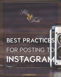 Taking advantage of the exposure that Instagram can give, with over 75 million daily users, can be crucial to someone's success on the platform. I'm going to be sharing some tips with you in this post on best practices for posting to Instagram.