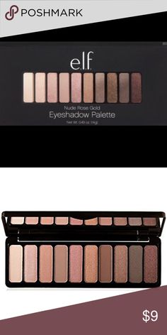 Shop Women's ELF size OS Eyeshadow at a discounted price at Poshmark. Description: Elf Cosmetics Nude Rose Gold eyeshadow palette Brand new in box. Makeup Brush Dupes, Mac Eyeshadow Dupes, Elf Eyeshadow, Gold Eyeshadow Palette, Eyeshadow For Blue Eyes, Rose Gold Eyeshadow, Drugstore Makeup, Lipstick Dupes, Makeup Brushes