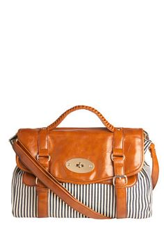Hello beautiful. Buckles,nautical stripes, leather- YES!