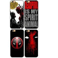 Deadpool Hard PVC Phone Case Cover For Iphone (4 Styles) //Price: $4.99 & FREE Shipping //     #civilwar