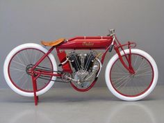 1913 Indian 8 valvue board track racer
