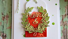 Merry & Bright closeup