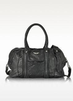 New Arrivals: Zadig & Voltaire - Beha Deep Dye Marine Leather Satchel Bag