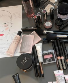 Take a look backstage for Naeem Khan at Bridal Fashion Week in NYC! Khan opted for a bright red lip and glowing skin for the runway. Make your lips pop by using a slightly darker shade of the same lipstick color on the center of your lips. Try True Dimensions® Lipstick in Firecracker on the outside and Sizzling Red in the middle! | Mary Kay