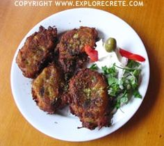 Recipe for Kolokithokeftedes (Courgette Balls)