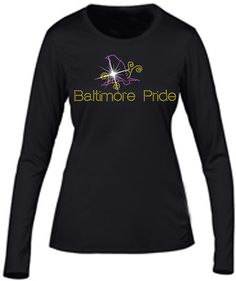 Baltimore Pride Swoop-Neck Long Sleeve