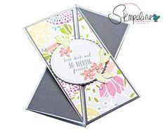 Triangle Tri-Fold Karte mit Stampin´ Up!
