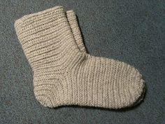 Hibernaatiopesäke: Resolución de Año Viejo: Modelo de aguja calcetín. Como prometí: cómo hacer un calcetín nalbinded.