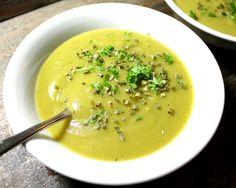 Oppskrift Purresuppe Potetsuppe Grønnsaksuppe