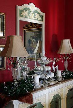 Silver theme Christmas decor