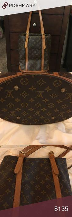 Authentic Louis Vuitton Paris Louis Vuitton Buck Bag shoulder size Bags Shoulder Bags