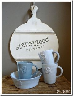 stapelgoed servies