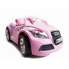 yes indeed my girl needs this ride!!    Amazon.com: Ride On Car 12V Audi Style Kids Power Wheels W/ MP3 Remote Control Pink: Toys & Games