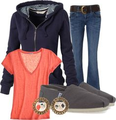 Casual Cute, created by ivorytickler92 on Polyvore