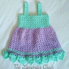 FREE!! ALL SIZES!! Valerie's Summer Sundress Crochet Pattern - The Lavender Chair