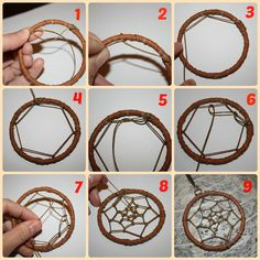 Risultati immagini per como hacer un atrapasueños Homemade Dream Catchers, Making Dream Catchers, Dream Catcher Craft, Home Crafts, Fun Crafts, Diy And Crafts, Arts And Crafts, Diy Dream Catcher Tutorial, Dream Catcher Patterns