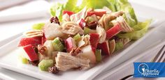 Albacore Waldorf Salad -- My favorite tuna salad, but I don't use celery, raisins or milk. I also use less mayo :-)