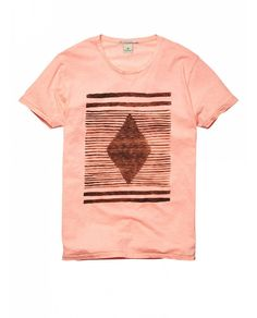T-shirts - Official Scotch & Soda Online Fashion & Apparel Shops Urban Fashion, Kids Fashion, Latest Clothes For Men, Scotch Soda, Textile Prints, Printed Tees, Men's Collection, Mens Tees, Short Sleeve Tee