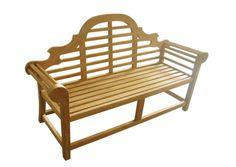 Lutyen Wood Garden Bench