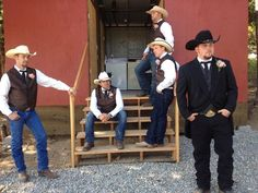 Western Groom and Groomsmen