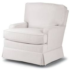 Swivel Glider Chair, Glider And Ottoman, Living Room Chairs, Living Room Furniture, Nursery Rocker, Cool Chairs, Rocking Chair, Seat Cushions, Barrel