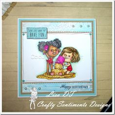 Crafty Sentiment Designs Building a Sandcastle