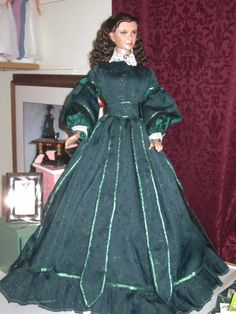 Scarlett Christmas Gown