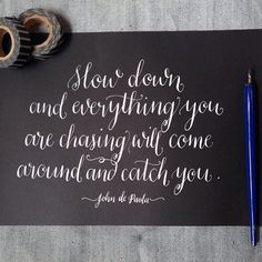 via | britta nickel Calligraphy Letters, Typography Letters, Modern Calligraphy, Beautiful Calligraphy, Caligraphy, Brush Lettering, Lettering Design, Hand Lettering, Words Quotes