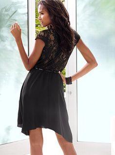 Victoria's Secret Lace-back Dress    $79.50
