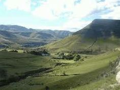 Alice, Eastern Cape - beautiful landscape. Didn't  appreciate this when I moved there though. Too young to notice, I guess