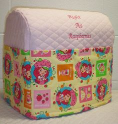 Check out this item in my Etsy shop https://www.etsy.com/listing/206124384/pink-quilted-strawberry-shortcake-cover