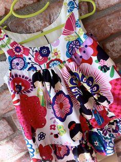 Sakura Ruffle Toddler Girls Dress