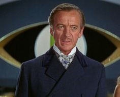 David Niven as James Bond in the 1967 spoof Casino Royale Casino Royale Movie, Casino Royale Dress, Casino Movie, Casino Dress, Casino Outfit, James Bond, Casino Night Party, Casino Theme Parties, Themed Parties