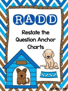 Have you been looking for a new strategy to use to get your students to answer comprehension questions in complete sentences?  If so, this strategy might be for you!  Its R.A.D.D.!This product is a new acronym for your children to use to answer comprehension questions in complete sentences using evidence from the text.