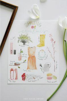 spring-essentials-free-art-print